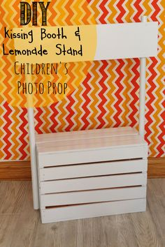 Ahhh it's finished! Only took 2 days - and I'm so excited about this. When it comes to my children photography - I've been wanting to do Valentine's Day kissing booth and lemonade stand photos for ...