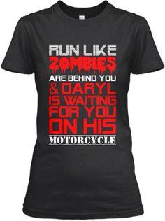 I would run like hell!