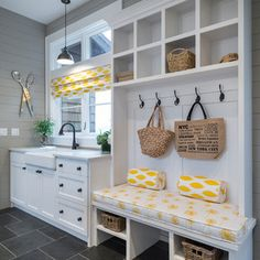 Back entrance ideas on pinterest mud rooms lockers and for Kitchen drop zone ideas