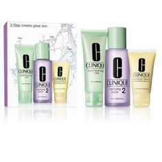 Clinique Kit for Combination Skin Kit Contains: Liquid Facial Soap Mild oz.) Dramatically Different Moisturizing Lotion+ oz. Lotion, Mary Kay, Clinique Gift Set, Clinique Makeup, Makeup Contouring, Kit, Cosmetics & Perfume, Love Your Skin, Facial Cleansers