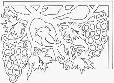 Discussion on LiveInternet - Russian Service Online Diaries Kirigami Templates, Card Templates, Handmade Crafts, Diy And Crafts, Paper Crafts, Stencils, Paper Cutting Patterns, Paper Cut Design, School Decorations