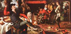 The Egg Dance, by Pieter Aertsen. 1557.