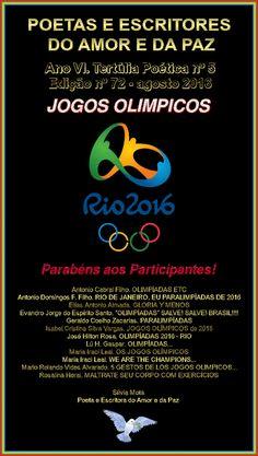CORDÃO DA POESIA: Olimpíadas Etc * Antonio Cabral Filho - Rj
