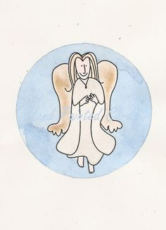 Angel Art Cards, Hand Painting Art, Paint Designs, Disney Characters, Fictional Characters, Handmade Jewelry, Angel, Hand Painted, Crafts