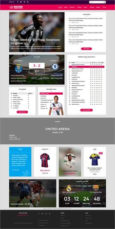 Pelle is a modern, clean and professional #Bootstrap #HTML Template for #sports clubs, or #football fans website download now➩ https://themeforest.net/item/pelle-multipurpose-sport-html-template/18524868?ref=Datasata