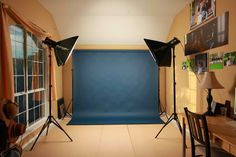 My in-home photography studio