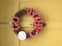 Cardinals Wreath making this today!!!