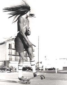skate hair