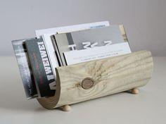 Kostenlose Anleitung: Minimalistischen Briefhalter aus Holz bauen / free DIY: crafting a wooden letter holder via DaWanda.com