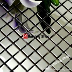 Polished Silver Metal Mosaic Tile SMMT018 Square Stainless Steel Wall Tiles Backsplash Silver Mirror Metallic Mosaic Tiles from Sophie_charm,$220.37 | DHgate.com