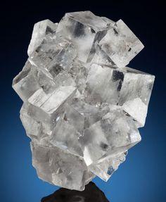 Ice-clear Fluorite - Emilio Mine, Loroñe, Obdulia Vein, Colunga District, Caravia Mining area, Asturias, Spain