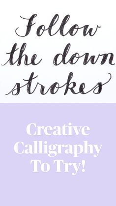 Hand Lettering Art, Hand Lettering Tutorial, Creative Lettering, Lettering Styles, Brush Lettering, Calligraphy Lessons, Calligraphy For Beginners, Calligraphy Letters, Hand Lettering For Beginners