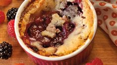 Mini Berry Cobblers - Grandparents.com