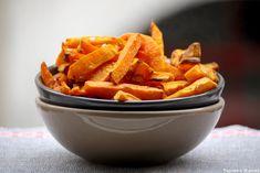 Frites de potimarron et Butternut aux épices douces »