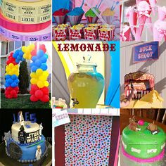 DIY Carnival games-tons of ideas, free fonts for signs, food ideas etc
