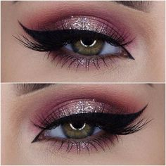 love the glitter!| pinterest: peacelovelissa