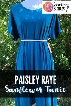 The Paisley Raye Sunflower Tunic: A Plus Size Review