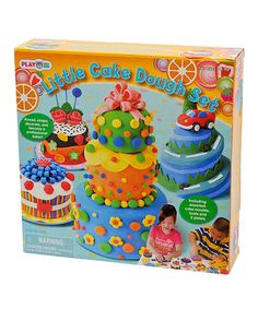 Take a look at this Little Cake Dough Set by Playgo on #zulily today!