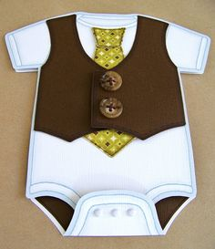 Most Handsome Onesie Invite by Mr. BeanCake's, via Flickr