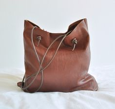 Easy Sew Leather Carry All