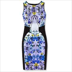 Spring Fashion Trends — Modern Floral: Marciano Dress