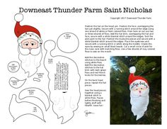 A Free Saint Nicholas/Santa Pattern from Downeast Thunder Farm