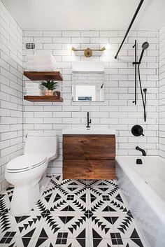 If you're looking for bathroom tile inspiration, subway tiles are versatile and timeless.