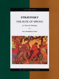 Stravinsky - The Rite of Spring: Le Sacre du Printemps The Masterworks Library (Boosey & Hawkes Masterworks Library): (Boosey & Hawkes Scores/Books). Full-score of the re-engraved 1967 edition of the revised edition from Adele, The Rite Of Spring, Picasso Portraits, Pina Bausch, The Rival, Ballet Art, The Chosen One, Online Music Stores, Scores