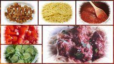 Vorratshaltung, Garten, Kochen, Rezepte, Gesundheit, Dekoideen, Hausmittel: Spaghetti mit faschierten Bällchen in Tomatensauce... Spaghetti, Cabbage, Vegetables, Food, Browning, Remedies, Health, Kochen, Meal