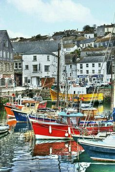 Mevagissey, Cornwall, England♥ Must see this inOctober 2013 England Ireland, England And Scotland, Places To Travel, Places To See, Devon And Cornwall, Belle Villa, English Countryside, British Isles, Great Britain