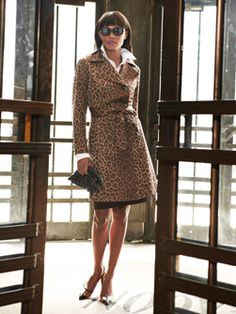 One of my favorite coats.... animal print trench coat.