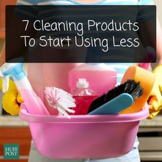 7 Cleaning Products You're Using WAY Too Much