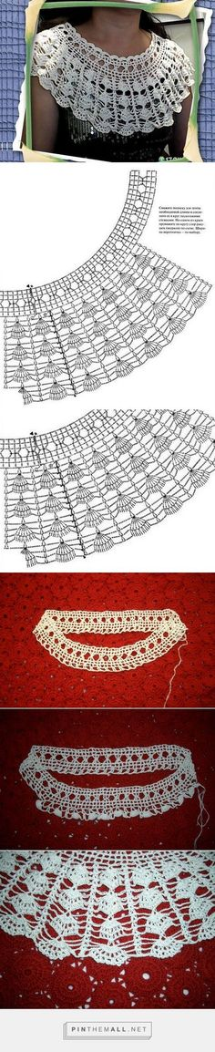 Colar Criado Crochê - / Collare - Created Crochet -