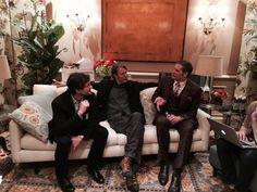 Twitter / lorettaramos: @Hannibal chatting with ...