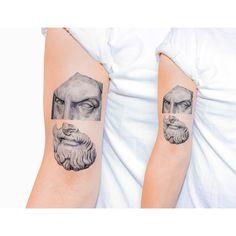Tattoo Artist: Kaiyu Huang - Shangai x New York www.tatteo.com
