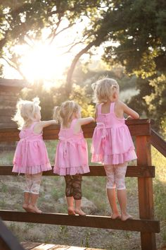 Sisters - looks like our girls when they were young! What great memories it brings to us.