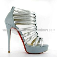Christian Louboutin Shoes and Christian Louboutin Wedding Shoes, Christian Louboutin Ulona Platform Sandals, Christian Louboutin Sandals, Christian Louboutin Outlet, Bridal Shoes, Wedding Shoes, Chanel Online, Silver Sandals, Killer Heels, Shoes Outlet, Replica Handbags