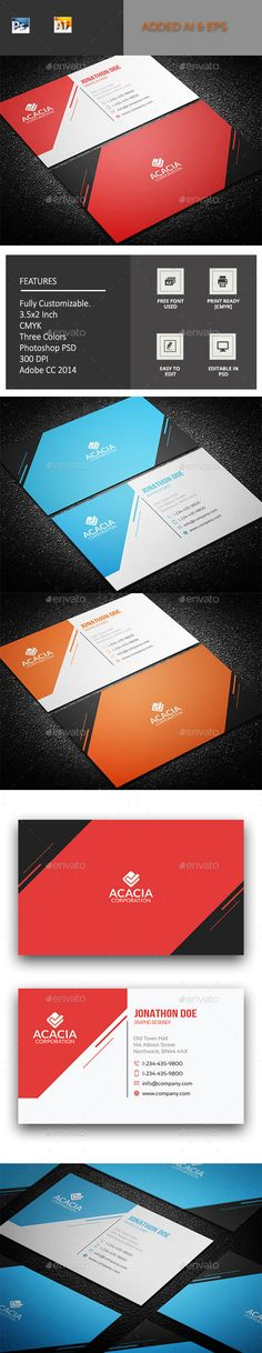 MedBu Business Card by ANCHORS FEATURES:> Fully editable Template.> Photoshop PSD File> Vector AI
