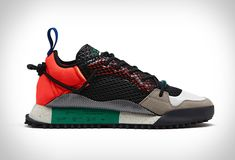 Adidas and designer Alexander Wang have teamed up again for another installment of their subversive collaboration. The highlight of the collection has to be the Reissue Run sneaker, a deconstructed take on a modern running shoe. The unique sn Sport Fashion, Alexander Wang, Sport Style, Adidas Originals, Balenciaga, Sportswear, Sporty, Fill, Sporty Fashion