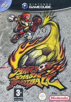 Mario Smash Football Game for the Nintendo Gamecube (GC). Buy Now from Fully Retro! Gamecube Games, Wii Games, Mario Smash Football, Nintendo, Super Smash Bros, Super Mario Bros, Super Mario Strikers, Playstation, Ever After High Games