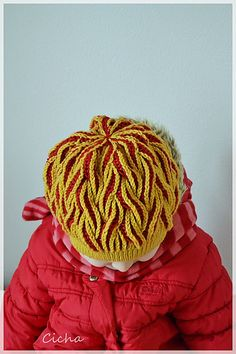 Ravelry: Cicha's Flaming hat