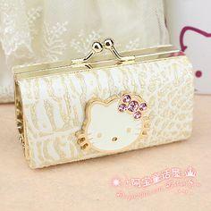 Hello kitty HELLO KITTY pink diamond owl hasp coin purse lipstick bag Hello  Kitty Handbags 1fa7acad828e1