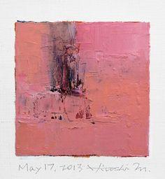 Hiroshi Matsumoto 9×9 Painting Abstract