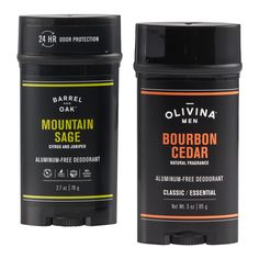 Soaps And Lotions -Formulated to be easy on sensitive skin, as well as kind to clothes, this aluminum-free essential-oil based men's deodorant helps keep body odor at bay. From Tennessee-based men's grooming specialist Olivina, whose range of grooming essentials focuses on function, fragrance and effectiveness, you can take your pick of earthy scents to help you stay fresh throughout the day.   Also could be used for beauty,bathing,beauty products,toiletries,bath products,fight body odor,body sp Natural Deodorant, Men's Deodorant, Korean Make Up, Korean Skincare Routine, Body Odor, World Market, Men's Grooming, Body Spray, Mens Gift Sets
