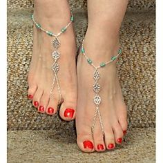 anklet jewelry Personalized Anklet Unique Design European Bikini Beach Jewelry – Eline s jewelry - Product Description Gender: Women Material: Alloy Theme: Flower Jewelry Type: Barefoot Sandals. Anklet Jewelry, Beach Jewelry, Anklets, Jewelry Gifts, Flower Jewelry, Bikini Jewelry, Feet Jewelry, Anklet Bracelet, Jewelry Accessories
