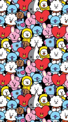 is a globally beloved character of millennials created in collaboration with LINE FRIENDS Size: Thick Flannel Blanket Is Super Soft Providing Warmth And Comfort Fast Shipping On All Orders Worldwide Satisfaction Guaranteed Or Your Money Back Kawaii Wallpaper, Bts Wallpaper, Iphone Wallpaper, Bts Chibi, Foto Bts, Bts Photo, Bts Taehyung, Bts Jimin, Bts Backgrounds