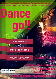 I Concurso Danza Urbana .Fiestas Barakaldo 2015