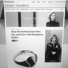 #regram @renasalapr only a few hours before the official launch of new collection Fur & Claw @bearbrooksbank #humphreybutlerltd #BBxHB #furandfclaw #collaboration