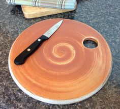 Cheese Board. Ceramic Cheese Plate. Soda by RonPhilbeckPottery