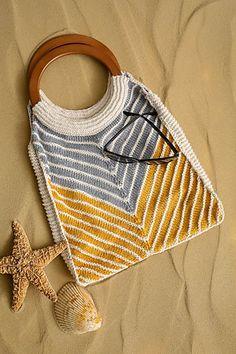 Ravelry: Chevron Shoreline Tote pattern by Nazanin S. Fard